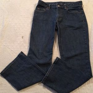 Banana Republic Denim Boot Cut Petite Jeans Womens